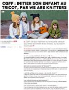 CQFF: Initier son enfants au tricot, par we are knitters